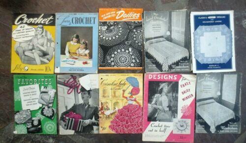 Lot of 10 Vintage 1940