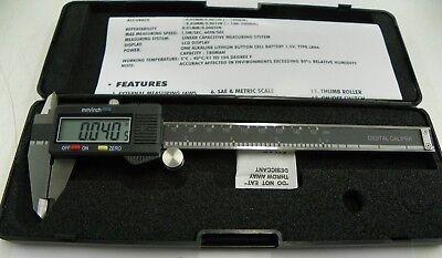 6 Digital Calipers Depth Gage  A110