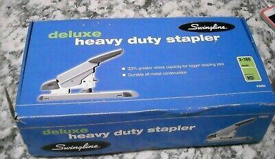 Deluxe Heavy-duty Stapler Deluxe 2-160 Sheets New