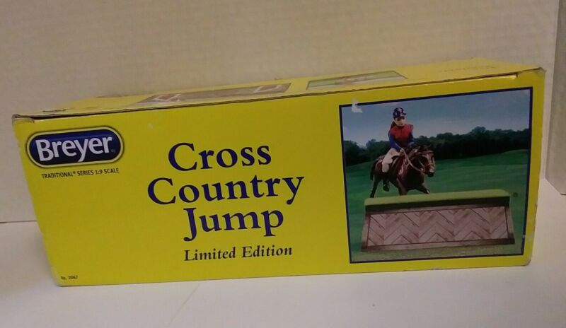 Breyer Cross Country Jump - Limited Edition Traditional Accessory Horse