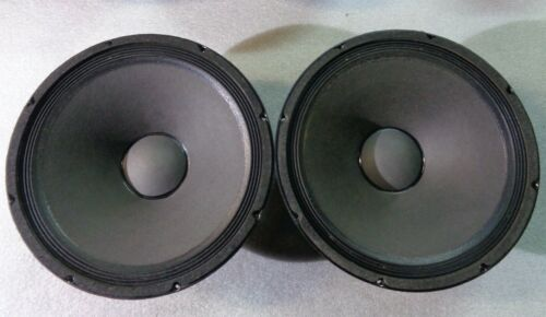 """1 MATCHED PAIR (2) Electro Voice 15"""" EVM15B Driver Woofer Factory Cones"""