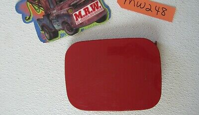 FITS AUDI 100 A6 S4 S6 GAS TANK DOOR FUEL GAS CAP COVER HINGE PAINTED RED CAR
