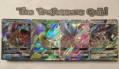 Pokemon TCG 100 card lot Guaranteed GX Holo Rare Reverse Holos! No Duplicates!
