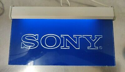 Vintage Sony Display Sign Electric Light Up FREE S&H