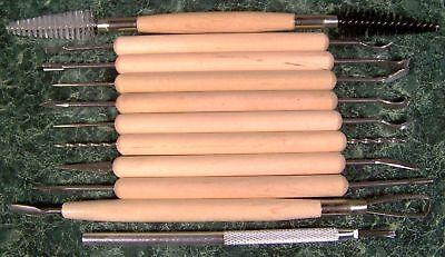 Инструменты для керамики 11pc CLAY POTTERY