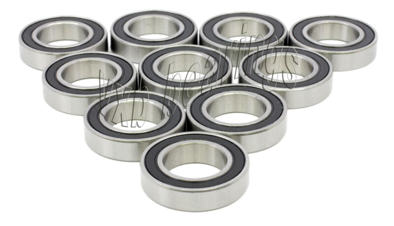 Lot of 10 Snowmobile 6004-2RS 20x42x12 20mm/42mm/12mm 6004RS Ball Bearings