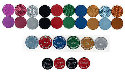 1x Personalised Golf Ball Marker, Free Engraving