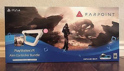 Farpoint Vr Aim Controller Ps4 Game Bundle   New   Sealed   Fast   Safe Shipping
