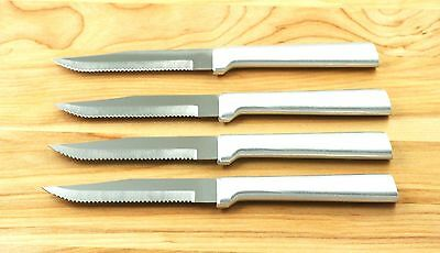 RADA CUTLERY 4 PC R105 STEAK KNIFES SERRATED SHARP SAME KNIVES S4S USA MADE A1 for sale  Empire