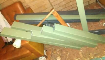 Steel colour bond patio tube