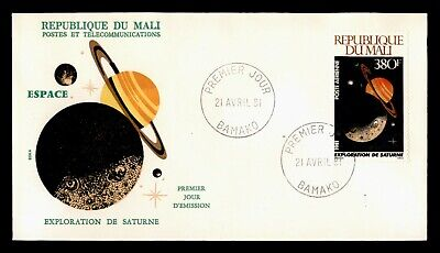 DR WHO 1981 MALI FDC SPACE SATURN EXPLORATION  C240331