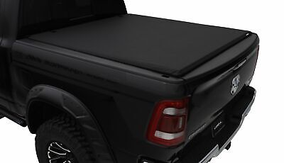 Lund Elite Roll Up Tonneau Cover for 02-19 Dodge & Ram 1500 | Fits 5.5 Ft. Bed  ()