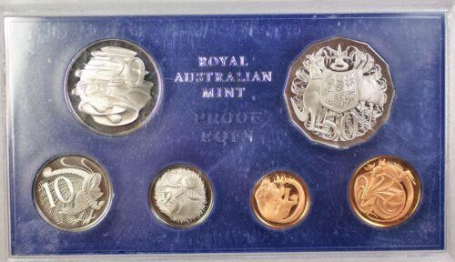1972 Australian Proof Set 6 Gem Coins Scuffs on the Case