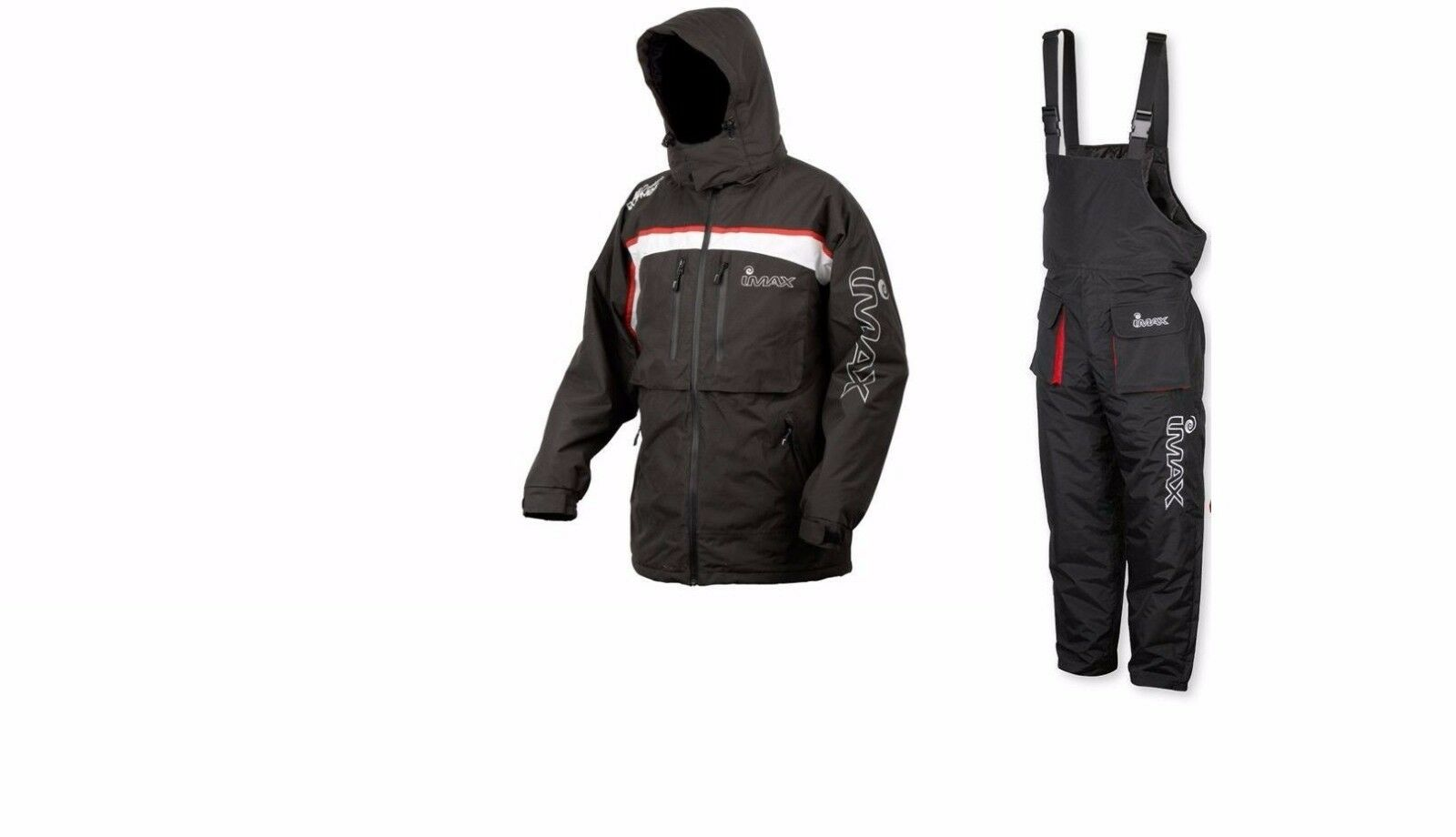 Imax Thermo jacket and Bib /& Brace set fishing hunting shooting waterproof warm