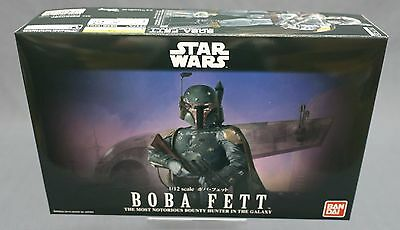 Star Wars plastic model kit 1/12 scale ver. Boba Fett Bandai Japan NEW