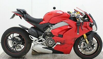 2017 DUCATI PANIGALE V4 S DAMAGED SPARES OR REPAIR ***NO RESERVE*** (28853)