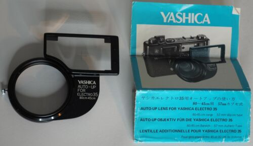 Very Clean YASHICA AUTO-UP for ELECTRO 35 (80cm-45cm) with Instructions