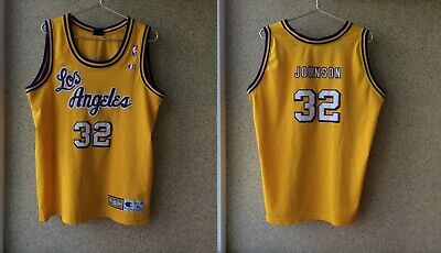new style f0055 fa47d Clothing - Magic Johnson Jersey - Trainers4Me