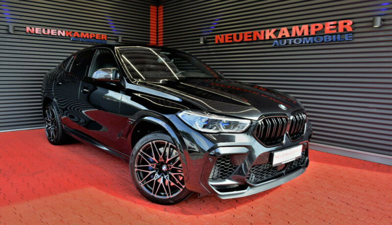 BMW X6 M Competition Pano Driver´s Pack SportAGA H/K
