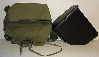 M249 Saw Repack Kit Black 200 Rd. Ammo Pouch W/ Insert Plastic Gently Used