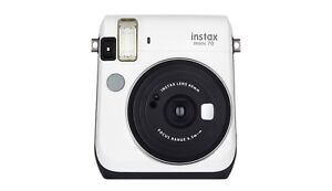Fujifilm Instax Mini 70 - Instant Film Camera in Moon White