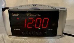 CKS3528 Emerson Research SmartSet Time Projector Dual Alarm Clock Radio AM/FM