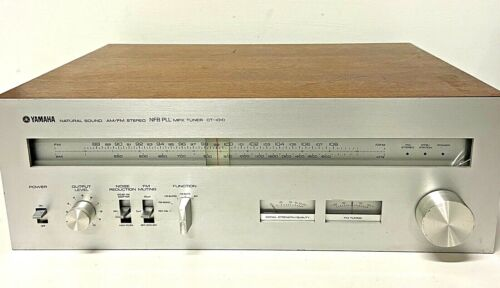 Vintage Yamaha CT-1010 Natural Sound Tuner NFB PLL MPX Excellent Tested Working