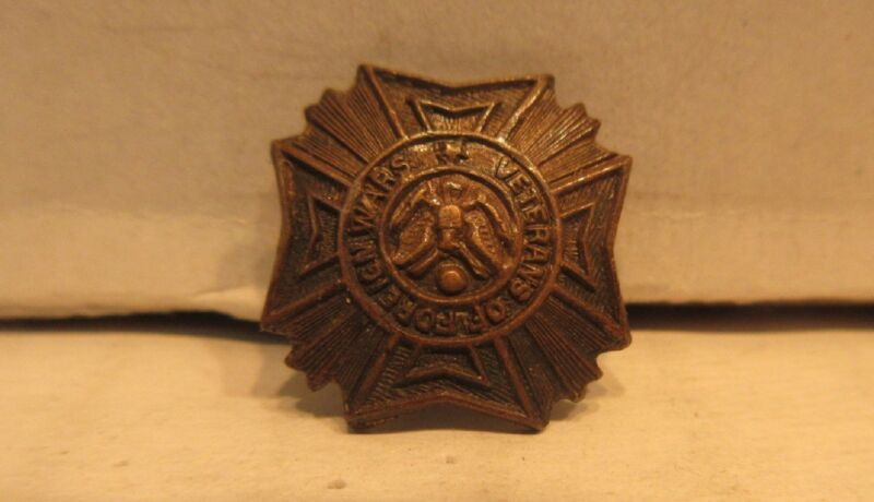 Vintage Veterans Of Foreign Wars Lapel Pin
