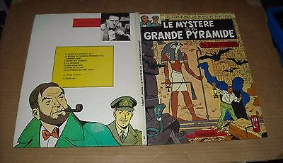 BLAKE ET MORTIMER LE MYSTERE DE LA GRANDE PYRAMIDE T1 RE 1972