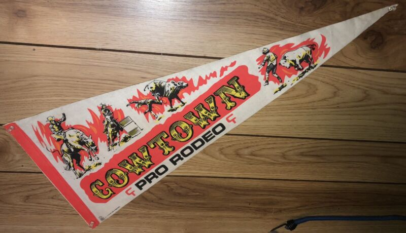 Cowtown Rodeo Pennant Pilesgrove New Jersey