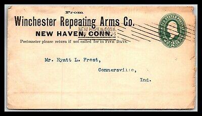 GP GOLDPATH: US POSTAL STATIONARY 1896, NEW HAVEN, CT. _CV683_P19