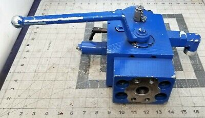 Hydac Hydraulic Manual Discharge Shut-off Valve 5075 Psi Saf32m16-n420f B6s3