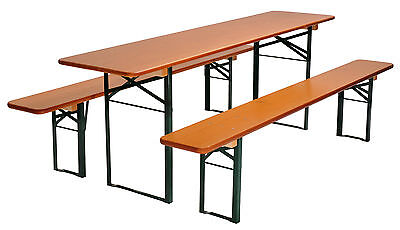Picnic Table Folding German Beer Garden Table Benches eBay