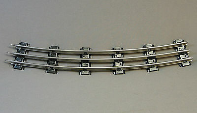"LIONEL O GAUGE TRACK O72 CURVE 72"" diameter train circle metal 6-65572 NEW"