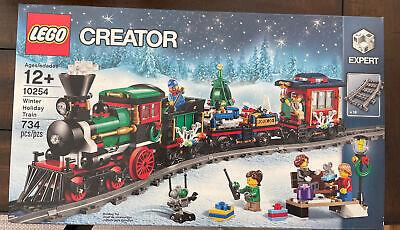 LEGO Creator Winter Holiday Train (10254) NIB Factory Sealed 2016