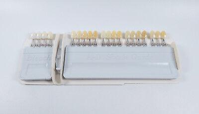 Ivoclar Vivadent Dental Shade Guide A-d Color Porcelain Teeth Based Vita 1 1set