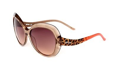 Just Cavalli JC633S Women's Light Brown Cat Eye Sunglasses 0684