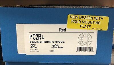 System Sensor Pc2rl Red Ceiling Horn Strobe Brand New On Sale