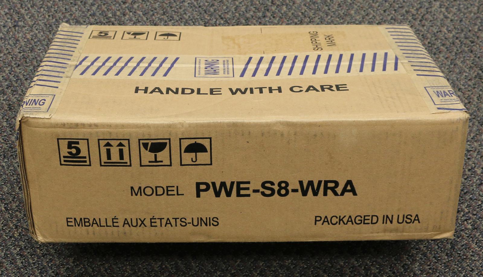 "Alpine Restyle PWE-S8-WRA 8"" Amplified Subwoofer NEW  SHIPPI"