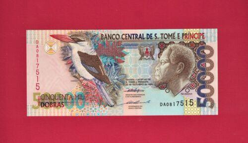 St Thomas & Prince São Tomé e Príncipe 1996 UNC Note: 50000 Dobras 1996 P-68a.1