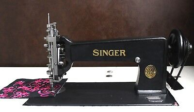 Singer 114w103 Chain and Chenille / Moss Stitch Machine  Restored  Free Shipping
