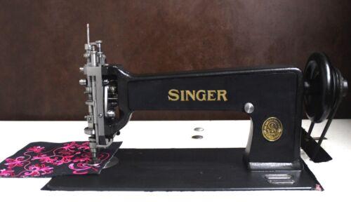 Singer 114w103 Chain Stitch Embroidery Machine - Restored -Free Shipping!!!
