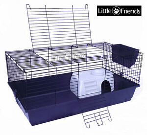 RABBIT GUINEA PIG INDOOR CAGE HUTCH 60cm 80cm 100cm 120cm 60 80 100 120 NEW