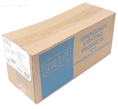 Nib Dual Lite Ez-2 Commercial Emergency Light Supplied W 2 6v 5.4w Lampheads