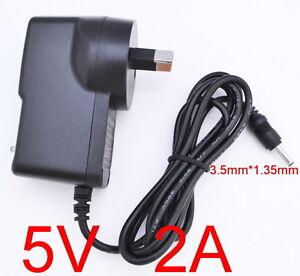 AC 100-240V Converter Adapter DC 5V 2A 10W Power Supply 2000mA AU 3.5mm x 1.35mm