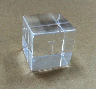 Clear Acrylic Tumbled Cube 2