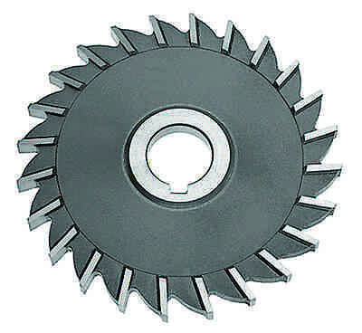 """4/"""" x 5//8/"""" x 1-1//4/"""" Staggered Tooth Side Milling Cutter NIAGARA 01010"""