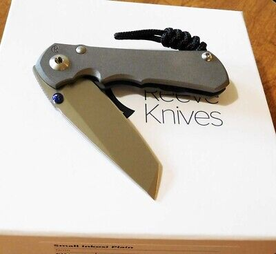 CHRIS REEVE New Small Inkosi Plain S35VN Tanto Blade Double Lug Knife/Knives