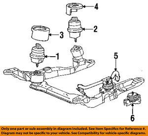 ford 93 95 taurus engine torque strut mount f3dz6038a ebay. Black Bedroom Furniture Sets. Home Design Ideas