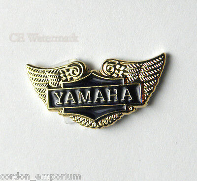 YAMAHA BIKE WINGS AUTOMOBILE JAPAN WINGS EMBLEM LOGO LAPEL PIN BADGE 3/4 INCH